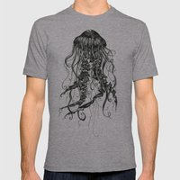 Jellyfish Mens Fitted Tee Athletic Grey SMALL
