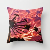 Summer Swing Throw Pillow