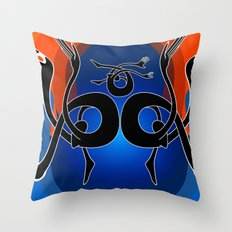 Tidal B Throw Pillow