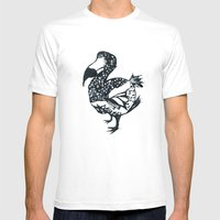 DODO Mens Fitted Tee White SMALL