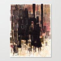 #1 Canvas Print