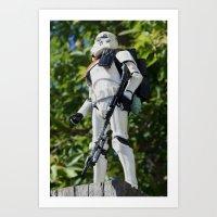 Suntrooper Art Print