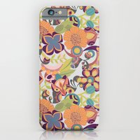 iPhone & iPod Case featuring Birds in the fall by Valentina Harper