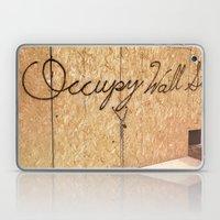 Occupy Wall Street On St… Laptop & iPad Skin
