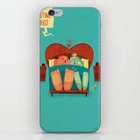 :::Bedtime Hugs::: iPhone & iPod Skin