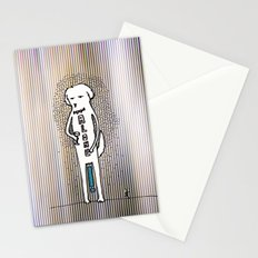 Alone Stationery Cards