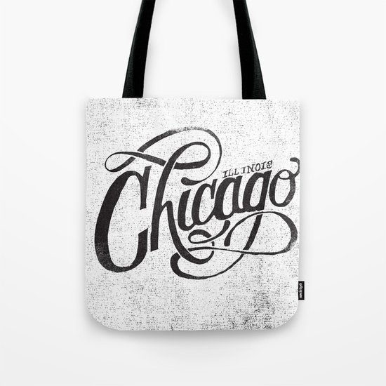 CHICAGO, IL Tote Bag