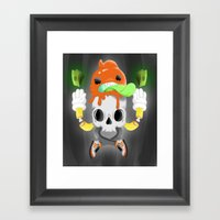 Kash Framed Art Print