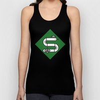 Slytherin House Crest Unisex Tank Top