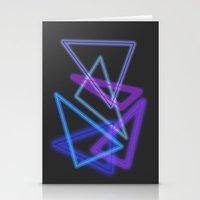 Glow Stick  Stationery Cards