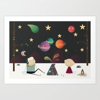 The Planets Gather Art Print
