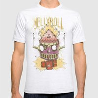Jellyroll #9: Caos Mens Fitted Tee Ash Grey SMALL
