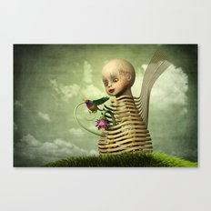 The Open Cage Canvas Print