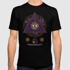 All Seeing Mens Fitted Tee Black SMALL