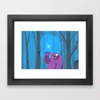 Ghost of Mello Marsh Framed Art Print