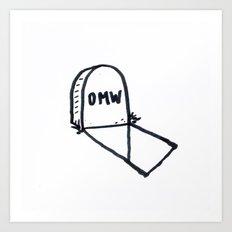 OMW Art Print