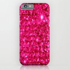 SparklE Hot Pink Slim Case iPhone 6s