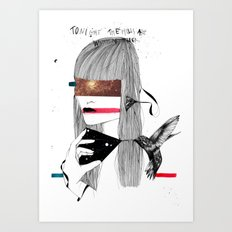 The Capture Art Print
