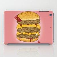 Human Burguer iPad Case