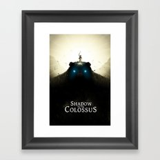 Shadow Of The Colossus Framed Art Print