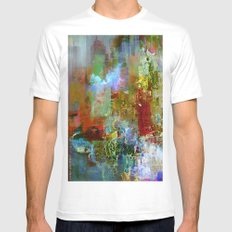 A contemporary place White Mens Fitted Tee SMALL