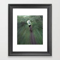 Singletrack Framed Art Print