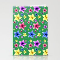 Flower Crazy Stationery Cards