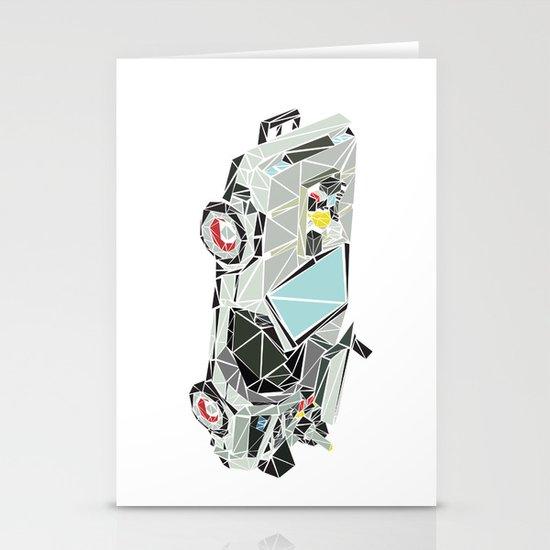 The Delorean Stationery Card