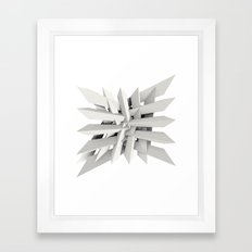 Uxitol (Struggle) Large … Framed Art Print