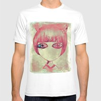 Dark Side Mens Fitted Tee White SMALL