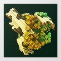 stratocaster dream fractal Canvas Print