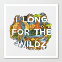 The Wildz Canvas Print