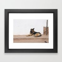 Outcast Framed Art Print