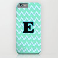 Letter E iPhone 6 Slim Case