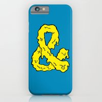 iPhone & iPod Case featuring Slimepersand by Robert Lewis