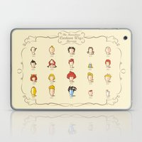 The Marvelous Cartoon Wigs Museum Laptop & iPad Skin