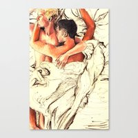 Origin Of Love #6  Canvas Print