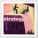 Business Strategy Art Print