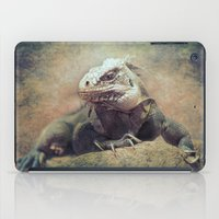 Big bad Lizard! iPad Case