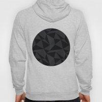 Triangular Black Hoody