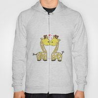 Giraffes in Love Hoody