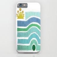 :: Princess n' Pea (Mint) iPhone 6 Slim Case