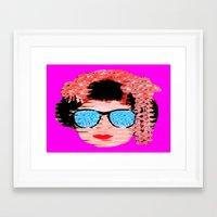 Daytime cool Framed Art Print