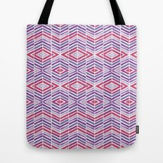 Gem Tone Watercolor Diamonds Tote Bag