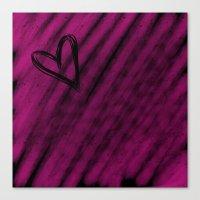 Heart Beat Canvas Print