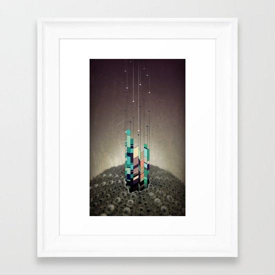 Antennas Framed Art Print