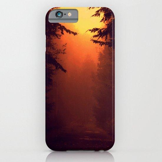 One Foggy Morning iPhone & iPod Case