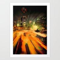 Rolycity Art Print