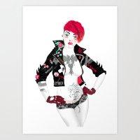 Thriller Art Print