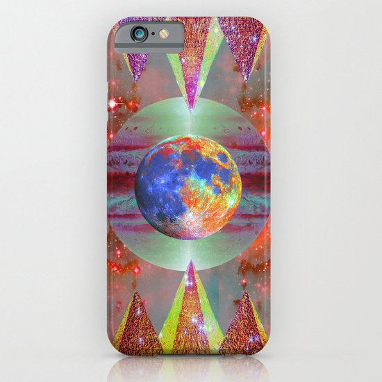 ☪elestial Pyramids iPhone & iPod Case